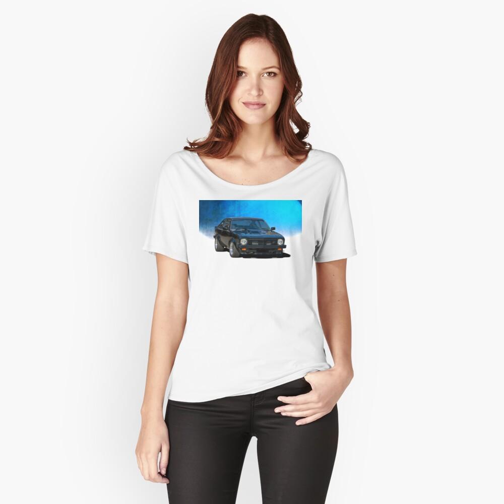 Black Torana SS Hatchback Relaxed Fit T-Shirt