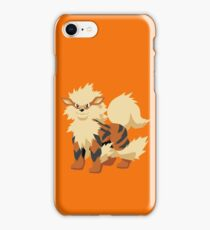 Arcanine Pokemon Simple No Borders iPhone Case/Skin