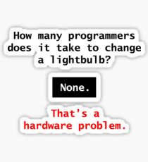 Programming Sticker