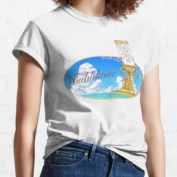 Bubblaine - Seaside Königreich (Super Mario Odyssey) Classic T-Shirt