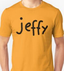 Jeffy Shirt Kids Yellow Boy Girl Tee - T-Shirt Unisex T-Shirt