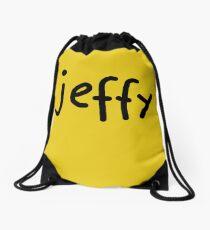 Jeffy Shirt Kids Yellow Boy Girl Tee - T-Shirt Drawstring Bag