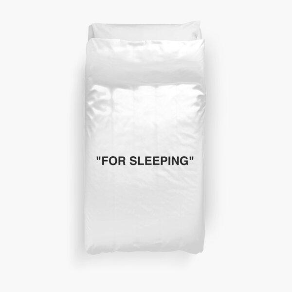 """""""Pour dormir"""" Blanc cassé Housse de couette"""