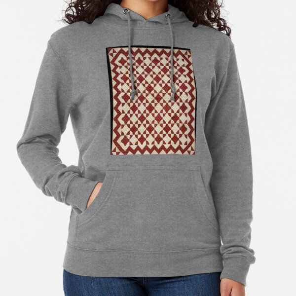 #Pattern, #design, #tracery, #weave, #drawing, #figure, #picture, #illustration Lightweight Hoodie