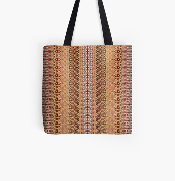 #Pattern #design #tracery #weave drawing figure picture illustration All Over Print Tote Bag