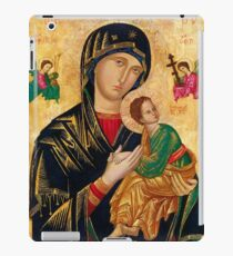 Our Lady of Perpetual Help, Russian orthodox icon, Madonna and Child, Virgin Mary  iPad Case/Skin