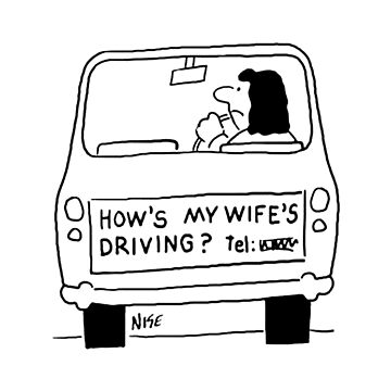 How's My Wife's Driving by NigelSutherland