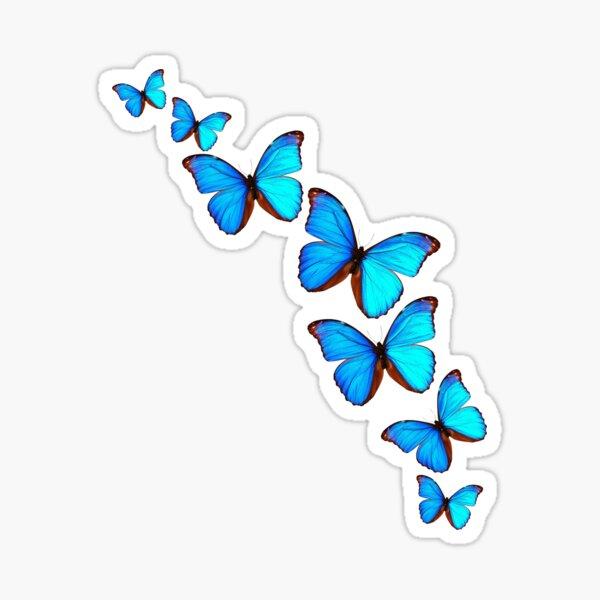 A Kaleidoscope of Butterflies Sticker
