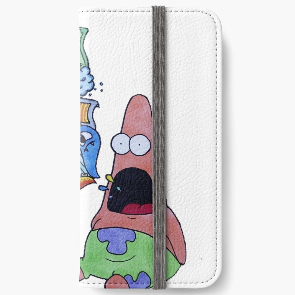 """Patrick meme doodle!"" iPhone Wallet by SpeedSketches ..."