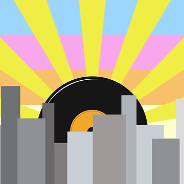 City Vinyl Sunrise by jezkemp