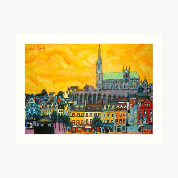 Cobh 4, Cork, Ireland Art Print