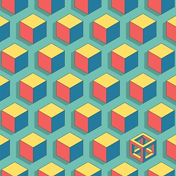 Isometric Cube by ggunawan26