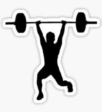 weightlifter  Sticker