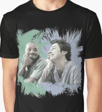 Turk & JD Bromance Grafik T-Shirt