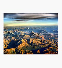 New Zealand Southern Alps Photographic Print