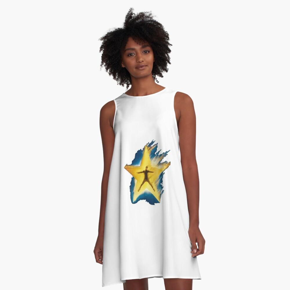 Bazzi-kosmisch A-Linien Kleid