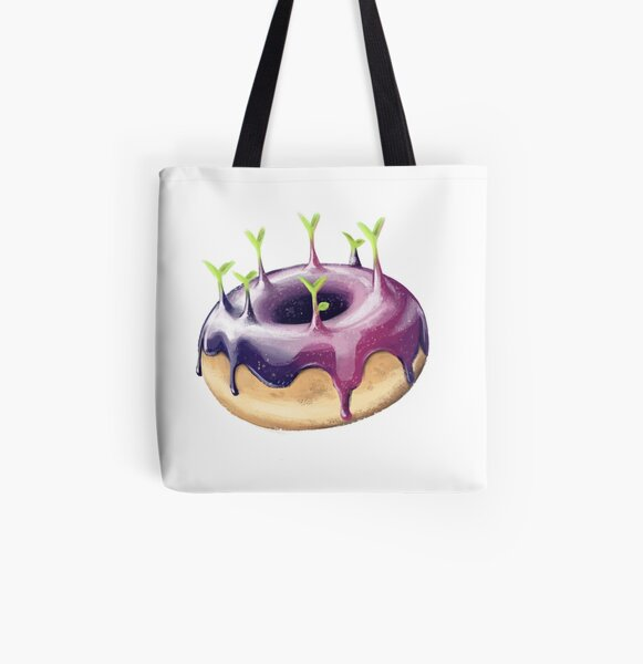 Space Glaze All Over Print Tote Bag