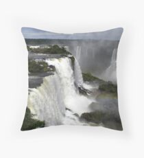 Iguassu Falls Throw Pillow