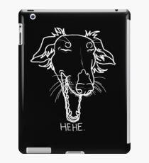 HEHE. #white iPad Case/Skin