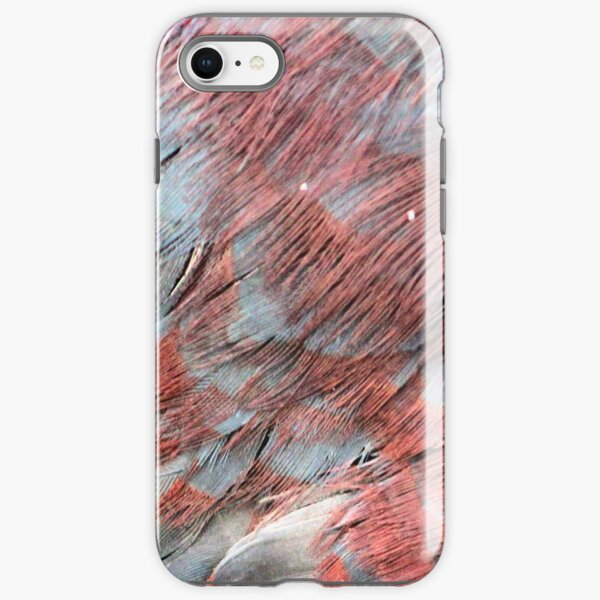 Bright feathers iPhone Tough Case