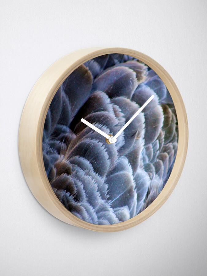 Alternate view of Black Swan Clock