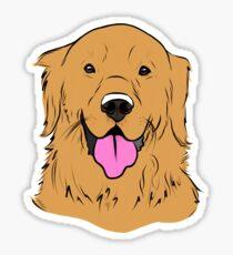 Golden Retriever Sticker