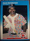 400 - Dave Henderson by Foob's Baseball Cards