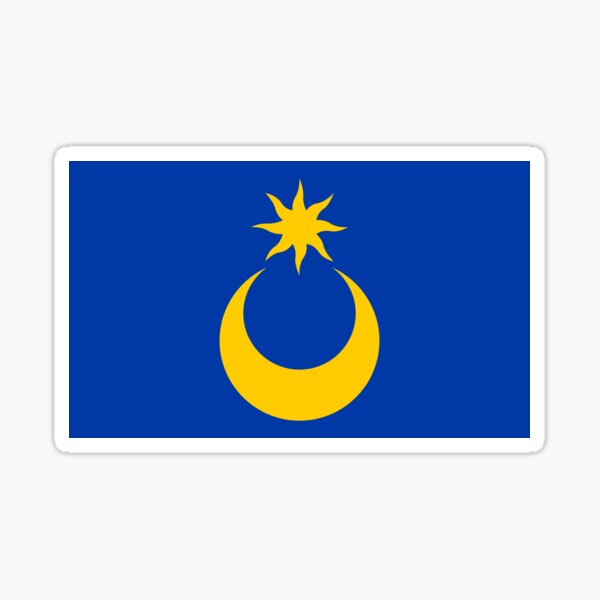 City of Portsmouth Flag, England Sticker