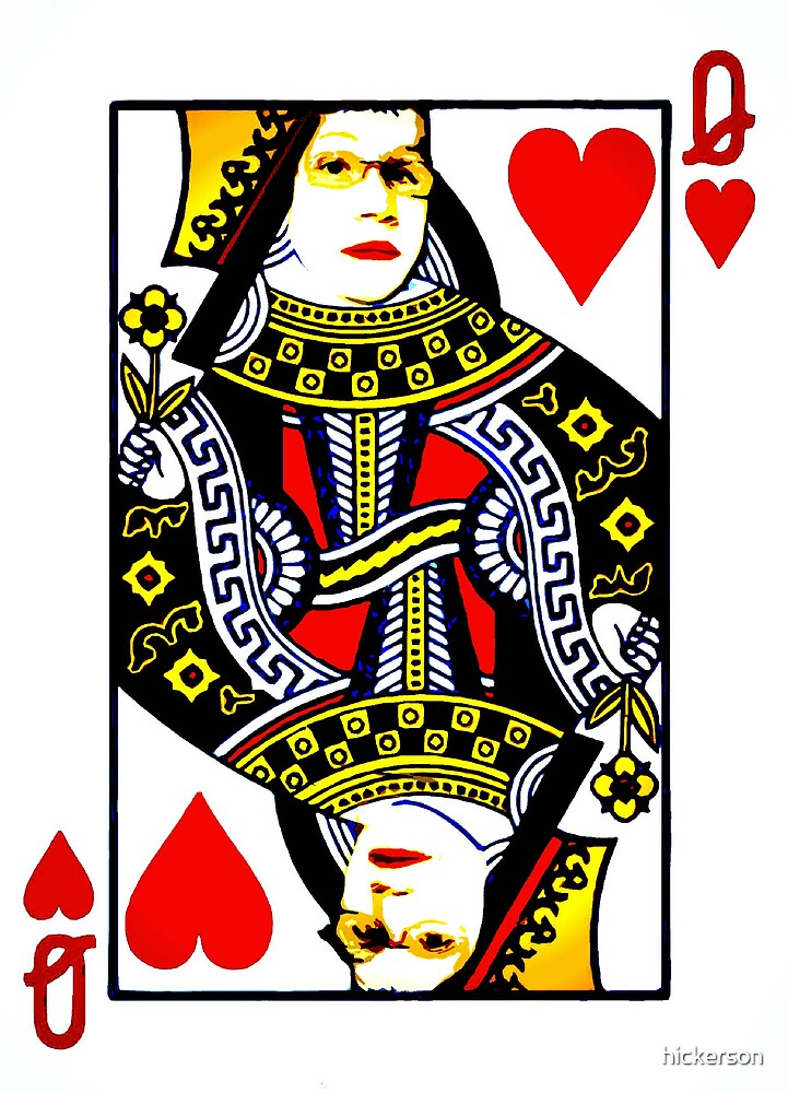Queen of Hearts II by hickerson
