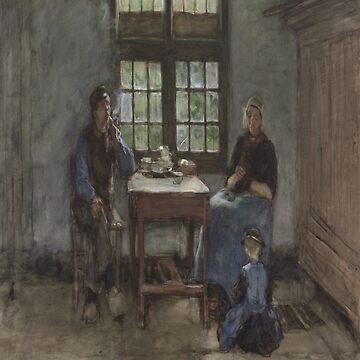 Larens binnenhuis-Anton Mauve by LexBauer