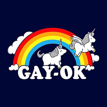 Gay Ok Pride Rainbow by BootsBoots