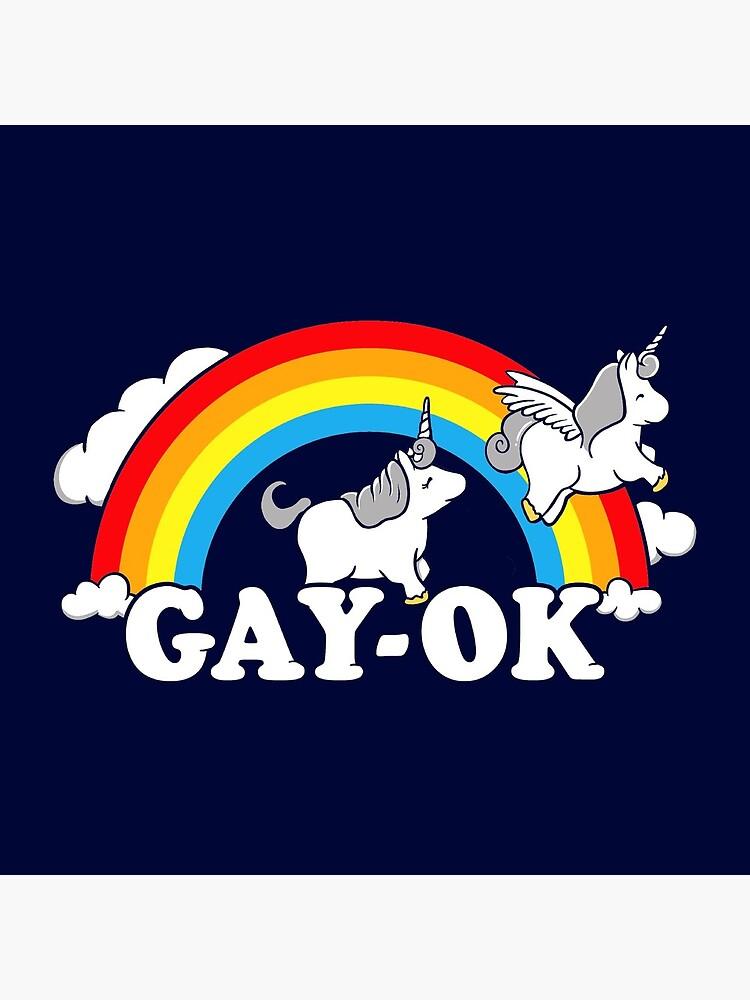 Homosexuell Ok Stolz Regenbogen von BootsBoots