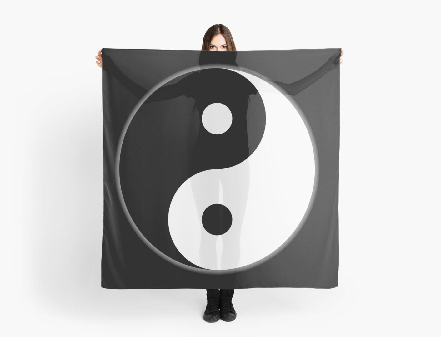 Yin Yang Inverted Chinese China Symbol Tai Chi Martial Art