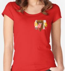 Summer Fun With Ice Cream Women's Fitted Scoop T-Shirt