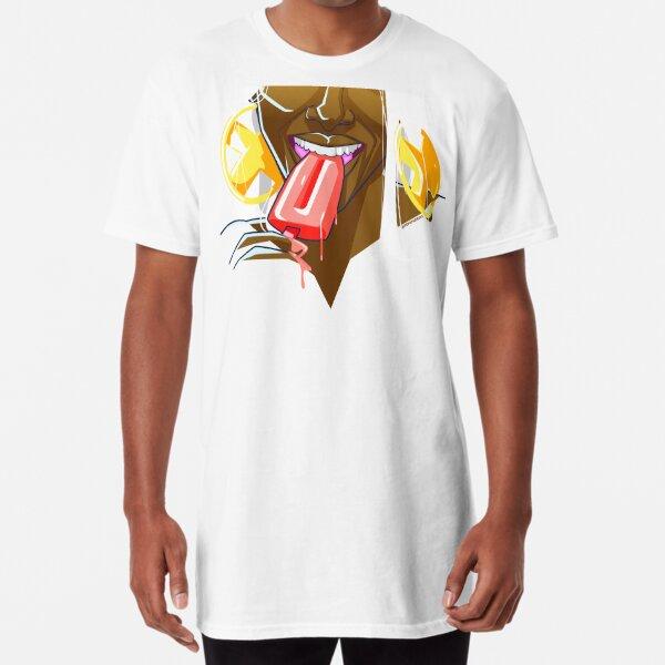 Summer Fun With Ice Cream Long T-Shirt