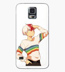 Stilvolles schwules Todoroki Hülle & Klebefolie für Samsung Galaxy
