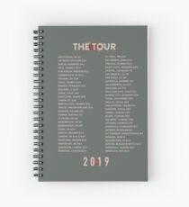 The Tour 2019 Spiral Notebook