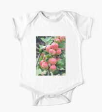 Red Apples One Piece - Short Sleeve