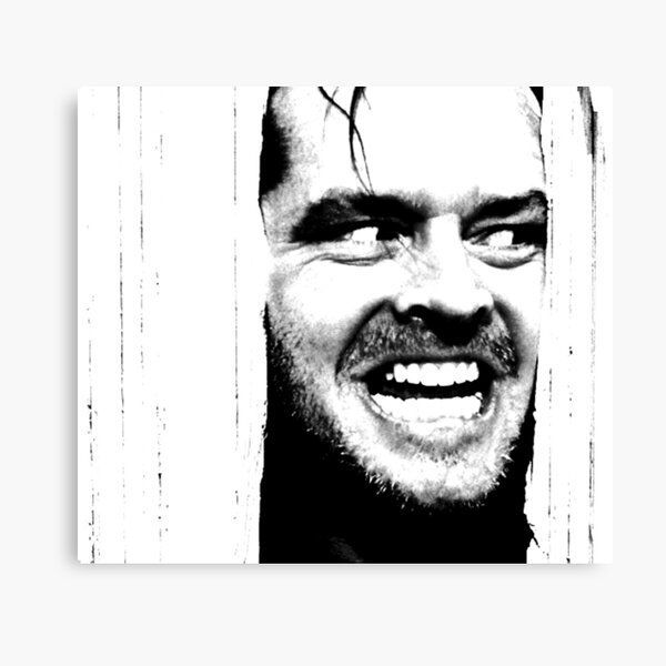 Here's Johnny! The Shining Canvas Print