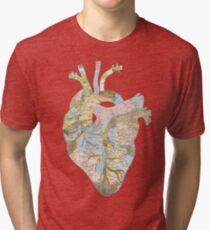 A Traveler's Heart (N.T.) Tri-blend T-Shirt