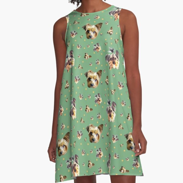 Yorkie pups A-Line Dress