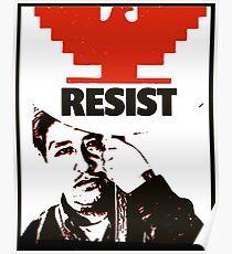 Cesar Chavez resists  Poster