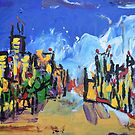 The Town  by Juhan Rodrik