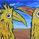 Yellow Birds - Canary Fiction by Juhan Rodrik