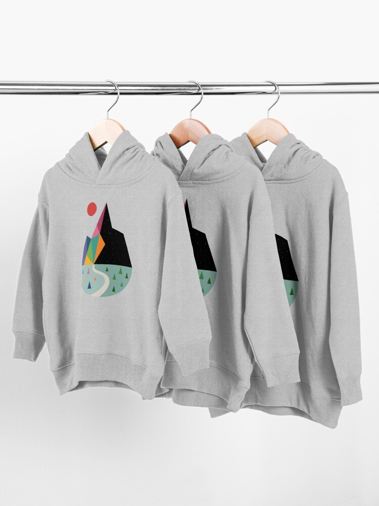 Alternate view of Bright Side Toddler Pullover Hoodie