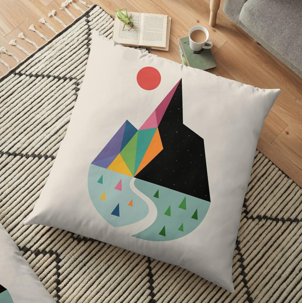 Bright Side Floor Pillow