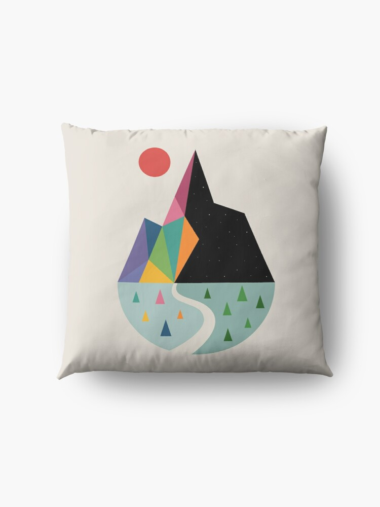 Alternate view of Bright Side Floor Pillow