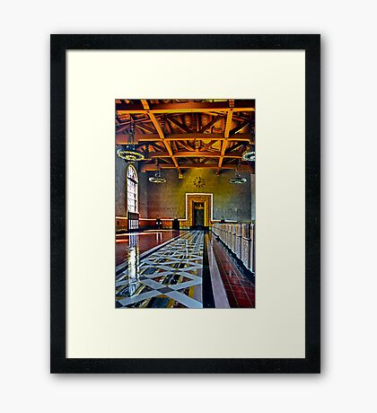 Union Station Downtown Los Angeles Framed Print