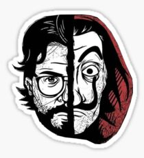 La casa de papel Sticker