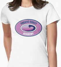 PCA zoey 101 pacific coast academy logo pink rosa Women's Fitted T-Shirt